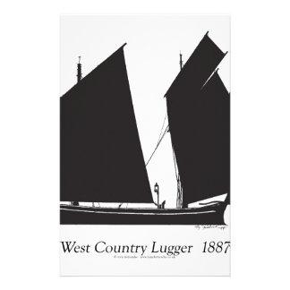 Papelaria lugger do país 1887 ocidental - fernandes tony