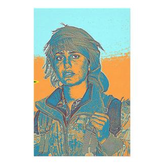 Papelaria Lutador curdo 6 de YPJ