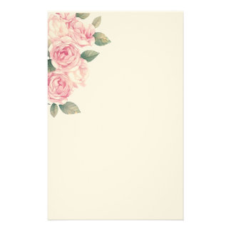 Papelaria Luz grande - rosas cor-de-rosa como a decoração