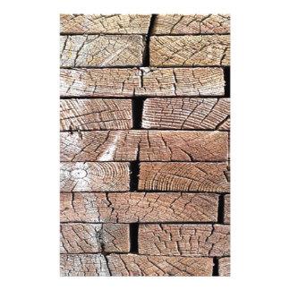 Papelaria madeira, retro, árvores
