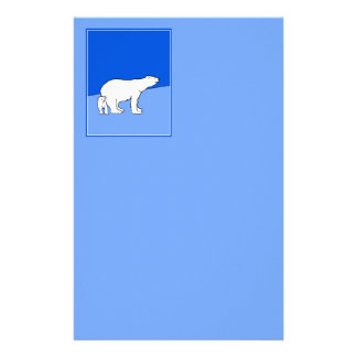 Papelaria Mamã e Cub do urso polar