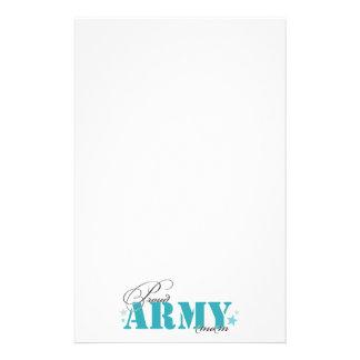 Papelaria Mamã orgulhosa do exército