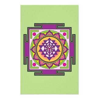 Papelaria Mandala de Sri Yantra