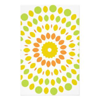 Papelaria Mandala do citrino