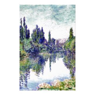 Papelaria Manhã no Seine, perto de Vetheuil - Claude Monet