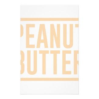 Papelaria Manteiga de amendoim