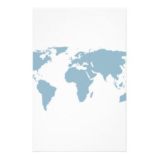 Papelaria Mapa do mundo