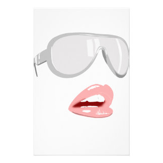 Papelaria Máscaras bonito & lábios
