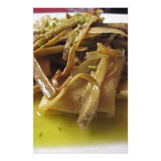 Papelaria Massa tradicional de Paccheri do italiano com