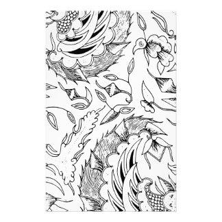 Papelaria Matéria têxtil indonésia dos vegetais e animal