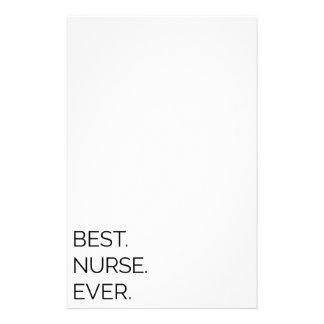 Papelaria Melhor. Enfermeira. Nunca