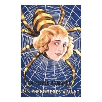 Papelaria Menina francesa da aranha