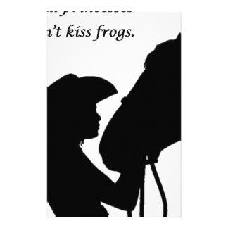 Papelaria Menina que beija o cavalo