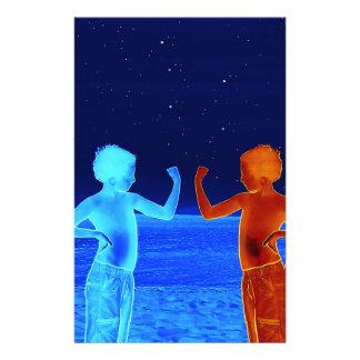 Papelaria Meninos do espaço