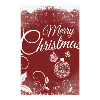 Papelaria mensagem do Feliz Natal