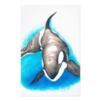 Papelaria Mergulho profundo da orca