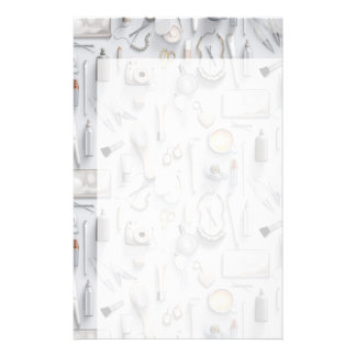 Papelaria Mesa branca da vaidade