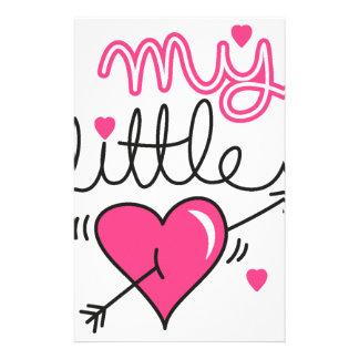Papelaria Meu pequeno, coração, miúdo, amor