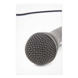 Papelaria Microfone do estúdio