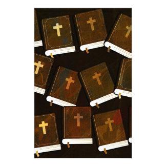 Papelaria Ministério abstrato da Bíblia Sagrada
