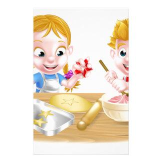 Papelaria Miúdos que cozem bolos e biscoitos
