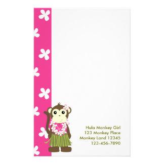 Papelaria monkeyflowers2, girlmonkeytrop, macaco Gir de