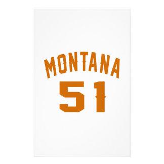 Papelaria Montana 51 designs do aniversário
