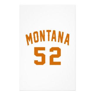 Papelaria Montana 52 designs do aniversário