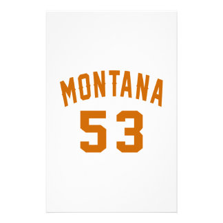 Papelaria Montana 53 designs do aniversário
