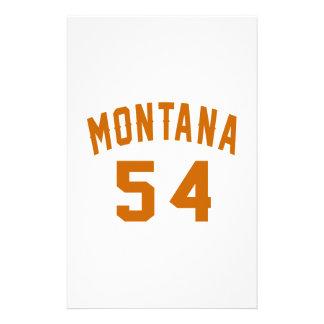 Papelaria Montana 54 designs do aniversário