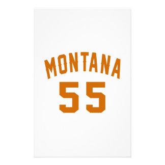 Papelaria Montana 55 designs do aniversário