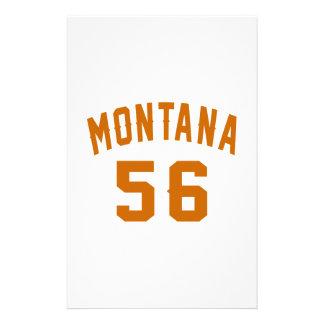 Papelaria Montana 56 designs do aniversário