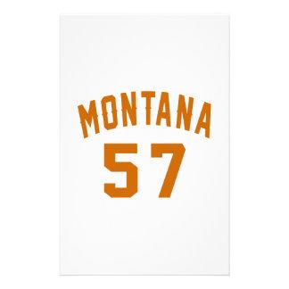 Papelaria Montana 57 designs do aniversário