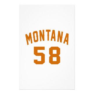 Papelaria Montana 58 designs do aniversário