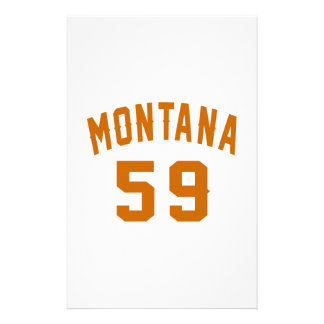 Papelaria Montana 59 designs do aniversário
