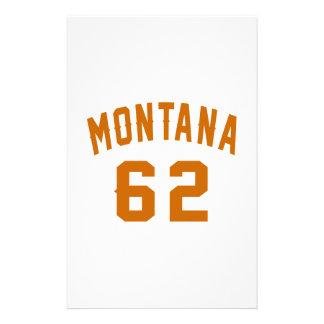 Papelaria Montana 62 designs do aniversário