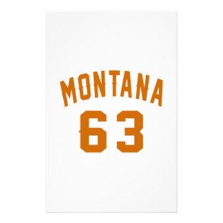 Papelaria Montana 63 designs do aniversário