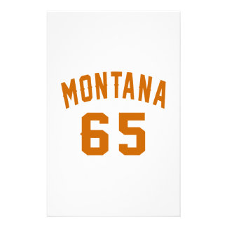 Papelaria Montana 65 designs do aniversário