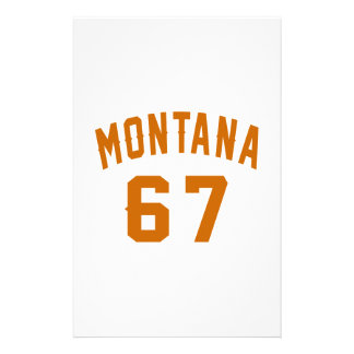 Papelaria Montana 67 designs do aniversário