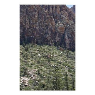 Papelaria Montanha na rocha vermelha nanovolt
