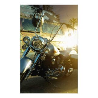Papelaria motocicleta