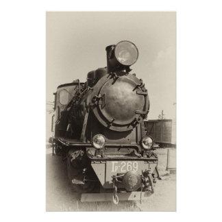 Papelaria Motor de vapor velho Gr-269 do estreito-calibre