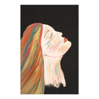 Papelaria mulher da Multi-cor