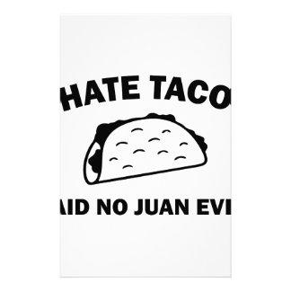 Papelaria Não disse nenhum Juan nunca