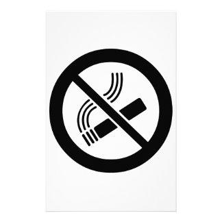 Papelaria Não fumadores