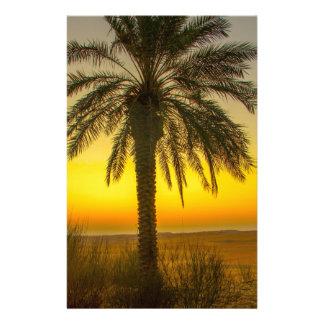 Papelaria Nascer do sol da palmeira