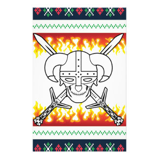 Papelaria Natal de viquingue