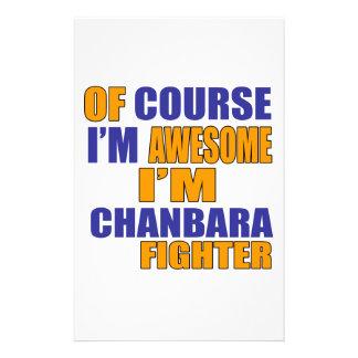 Papelaria Naturalmente eu sou lutador de Chanbara