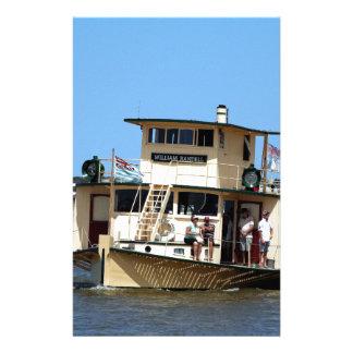 Papelaria Navio a vapor de pá, Goolwa, Austrália