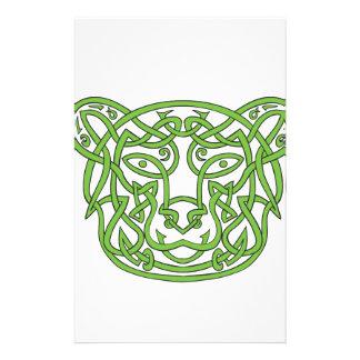 Papelaria Nó do céltico do urso